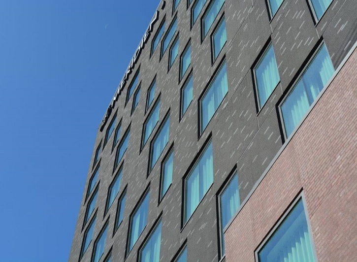 Dryvit Custom Brick Rises To The Top of Hotel 1