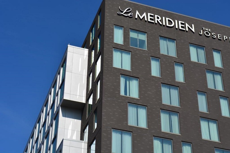 Unique Design of Le Meridien Blending Both Brick and Metal Aesthetics